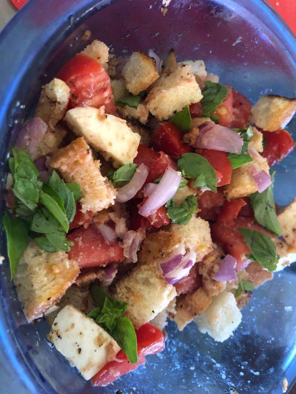 Panzanella Italian Bread Salad Rasaala
